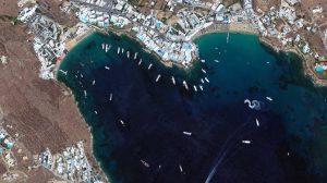 Mykonos Satellite Image