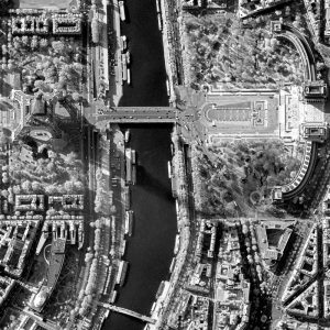 Eiffel Tower | France | WorldView-1 | 5 November 2007