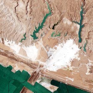 Saltworks | Jordan | WorldView-2 | 17 May 2012
