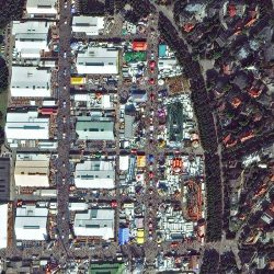 Oktoberfest | Germany | WorldView-3 | 25 September 2016 | © DigitalGlobe - supplied by European Space Imaging