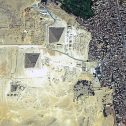 Pyramids of Giza | Egypt | WorldView-2 | 19 August 2017