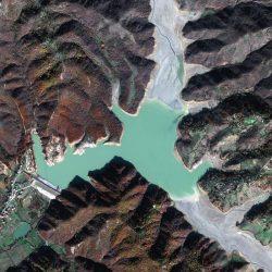 Liqeni i Fushë Krujës | Albania | GeoEye-1 | 5 December 2017