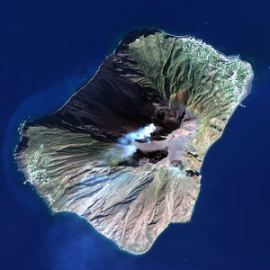 Stromboli | Italy | WorldView-2 | 26 October 2017