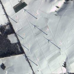 Wind Turbines | Germany | GeoEye-1 | 13 February 2018