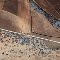 Cars | Turkey-Syria Border | WorldView-3 | October 25 2014 | © DigitalGlobe - supplied by European Space Imaging