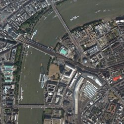 Thames River | London | QuickBird | 28 July 2002 | © DigitalGlobe - Supplied by European Space Imaging