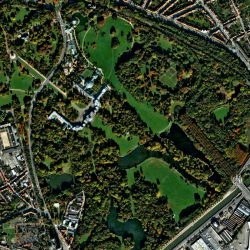 Château de Laeken | Brussels | QuickBird | 22 October 2007 | © DigitalGlobe - Supplied by European Space Imaging