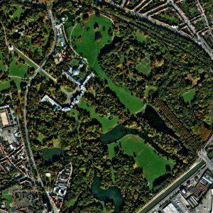 Château de Laeken | Brussels | QuickBird | 22 October 2007 | © DigitalGlobe - Supplied by European Space Imaging