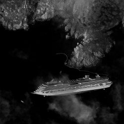 Costa Concordia | Italy | WorldView-1 | 17 January 2012