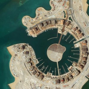 The Pearl | Qatar | QuickBird | 5 April 2009 | © DigitalGlobe - Supplied by European Space Imaging