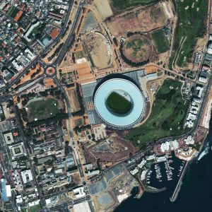 Green Stadium | Capetown | QuickBird | 26 February 2010 | © DigitalGlobe - Supplied by European Space Imaging