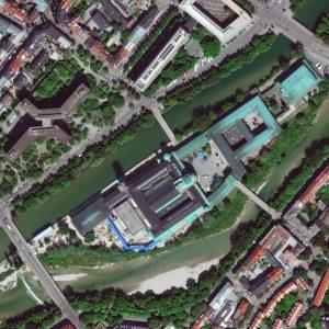 Deutsches Museum | Munich | Germany | WorldView-4 | 29 May 2017