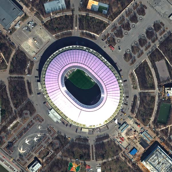 Luzhniki Stadium, Moscow | WorldView-3 | © European Space Imaging