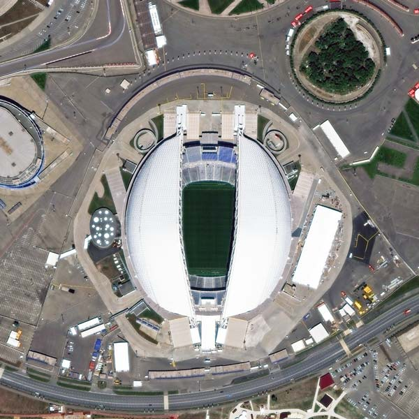 Fisht Stadium, Sochi | WorldView-3 | © DigitalGlobe - supplied by European Space Imaging