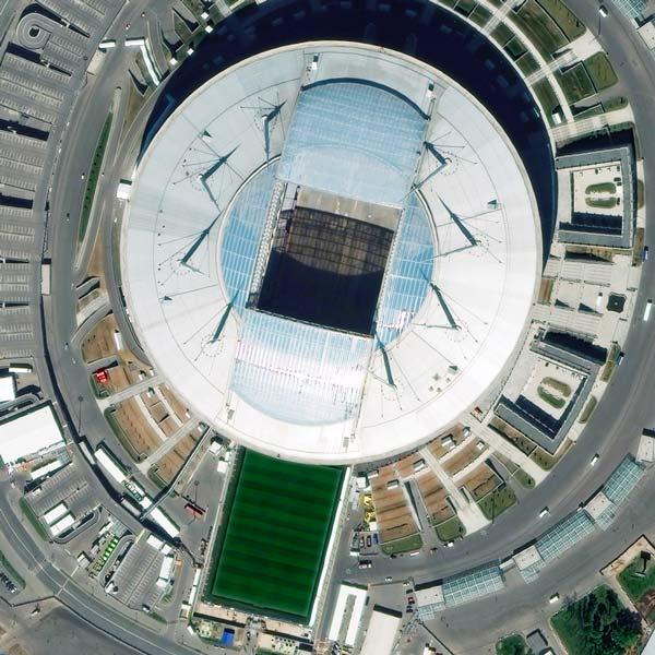 Saint Petersburg Stadium, St Petersburg | WorldView-3 | © DigitalGlobe - supplied by European Space Imaging
