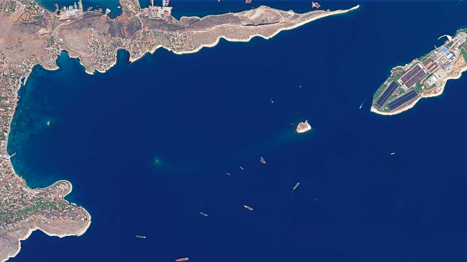 Greece: Satellite Images Show Oil Spill | European Space ...