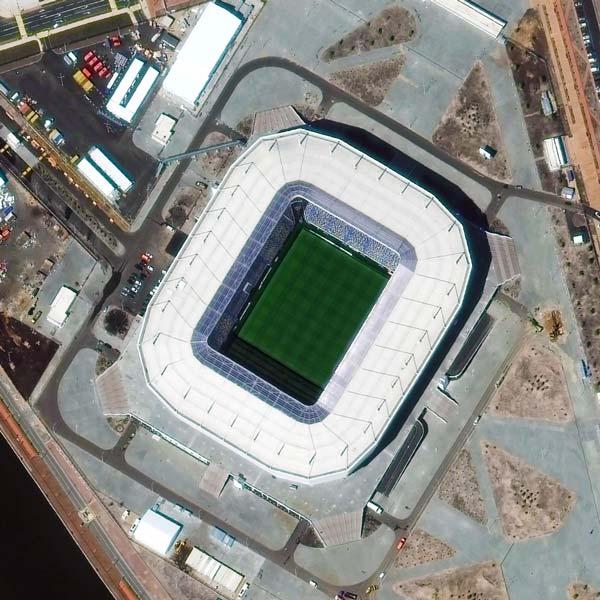 Kaliningrad Stadium, Kaliningrad | © DigitalGlobe - supplied by European Space Imaging