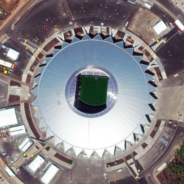 Samara Arena, Samara | © DigitalGlobe - supplied by European Space Imaging