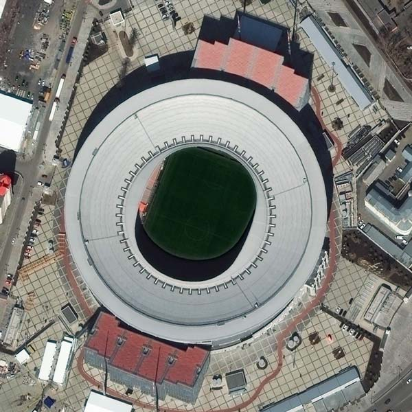 Ekaterinburg Arena, Ekaterinburg | © DigitalGlobe - supplied by European Space Imaging