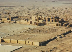 The ruins of Hatra in 2007