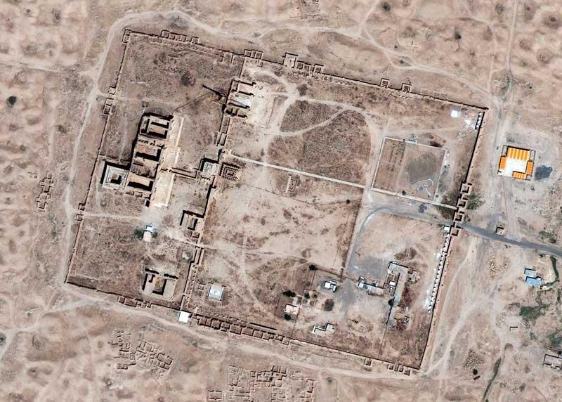 June 2013   Hatra   GeoEye-1