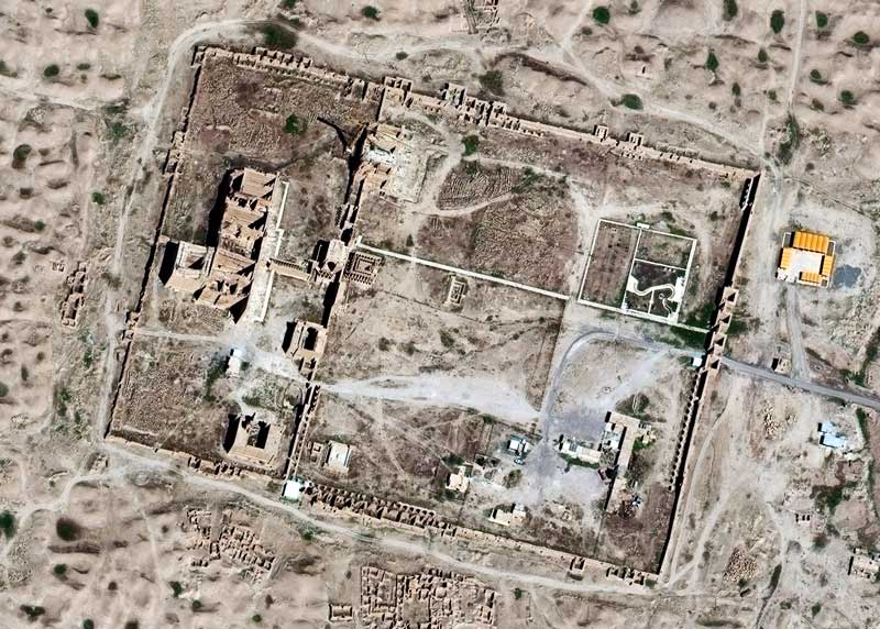 April 2015 | Hatra | WorldView-2