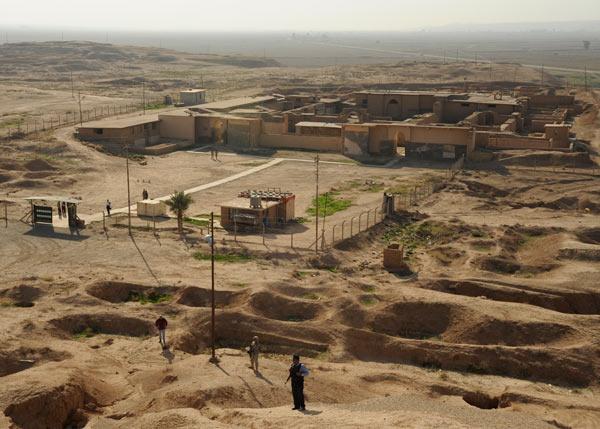 Nimrud archaeological site