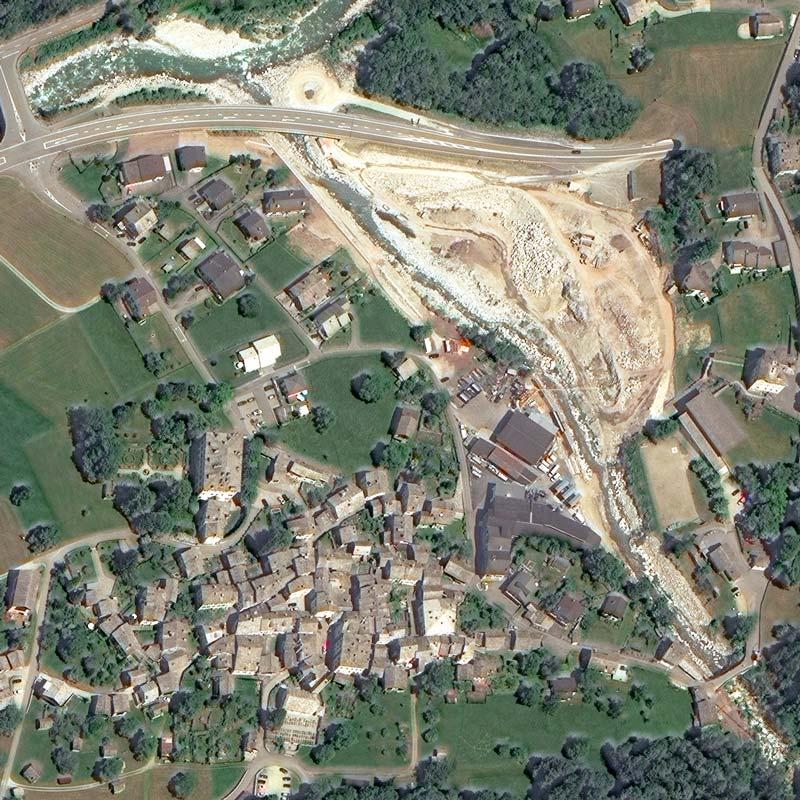 6 June 2015 | Bondo before the landslide | WorldView-3