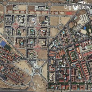WorldView-3 Image of Madrid in 40 cm Resolution