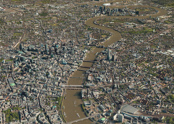 Vricon 3D Surface Model of London