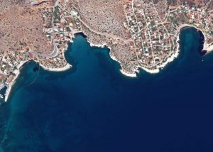 Image of Greek oil spill captured with GeoEye-1 | 13 September 2017