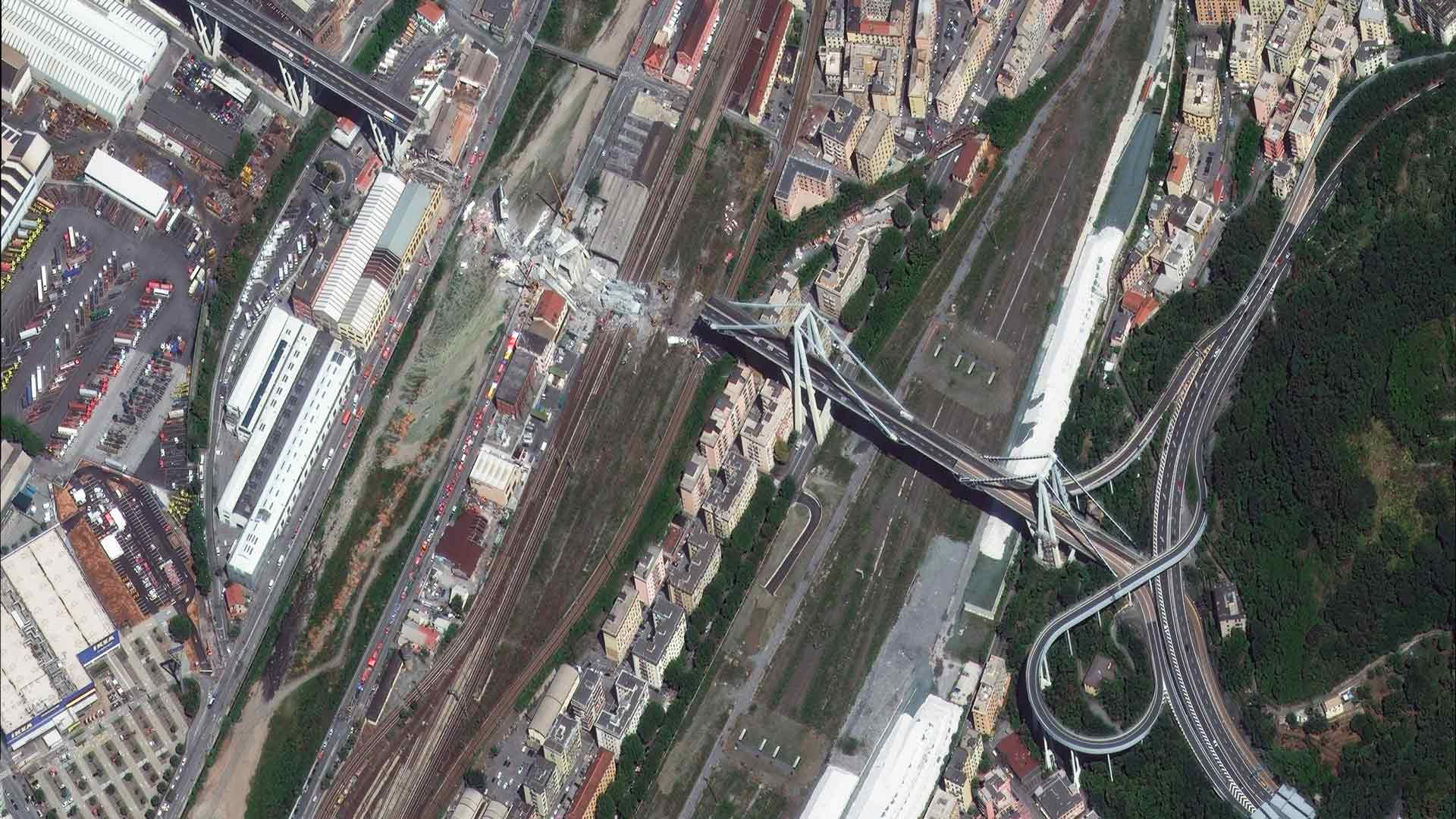 Morandi Bridge Collapse Italy