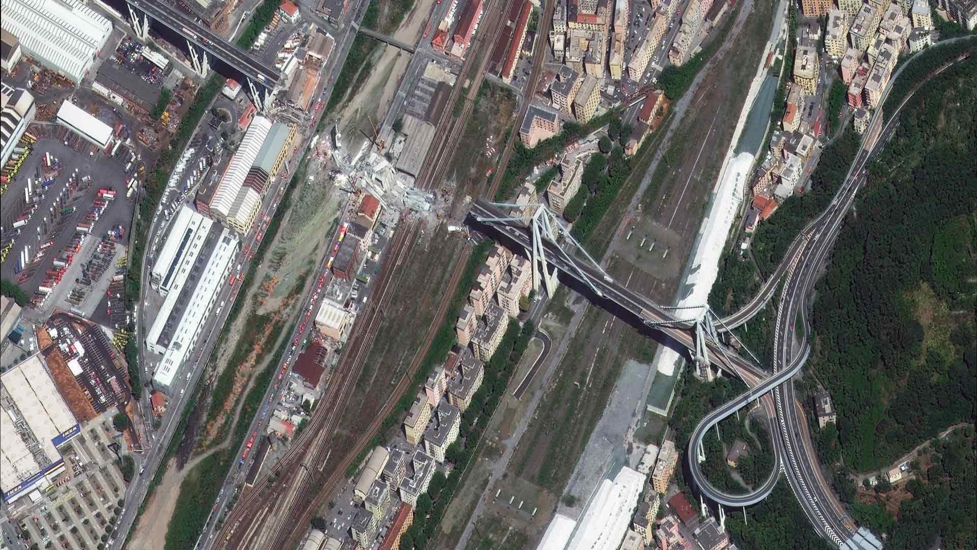 Morandi Bridge Collapse Italy