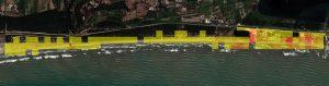Beach Litter Density Map Lido, Italy
