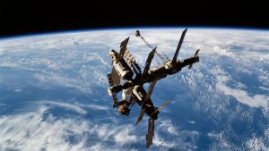 Mir_during_STS-74