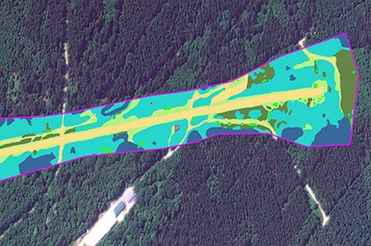 Vegetation management map