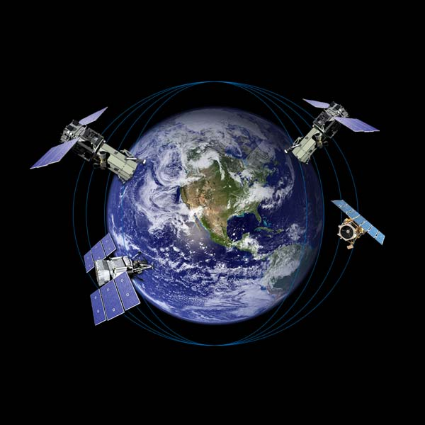 WorldView satellite constellation